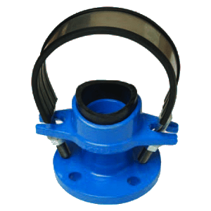 Flangend bend clamps