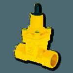 saracinesca cuneo gommato per gas filettata