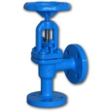 222 flanged bellow corner stop valve